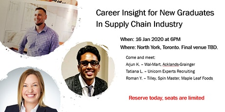 Supply Chain Recruitment Process and Career Advice for New Graduates tickets