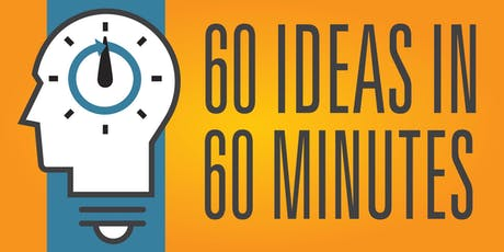 60 Ideas in 60 Minutes Mt. Pleasant Iowa tickets