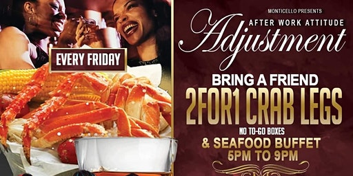 RSVP for The 2 for 1 Friday Buffet- Bring a Friend! Courtesy of Boss Chix!