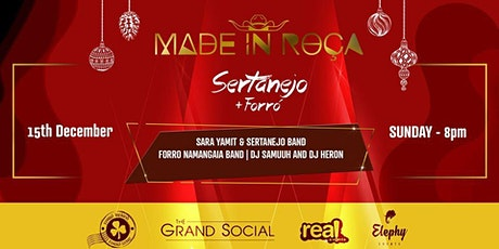 Made in Roça - Christmas Special Tickets