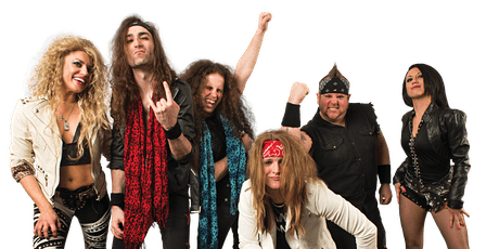 Hairbangers ball with RockZilla tickets