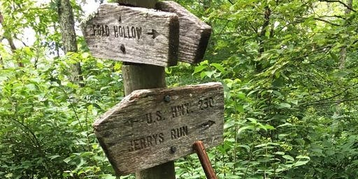 Shenandoah Mountain Trail Hike