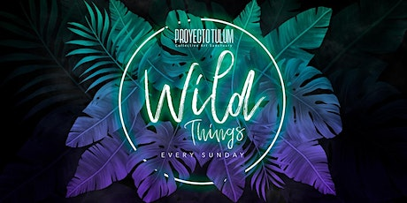 Proyecto Tulum Presents Wild Things tickets
