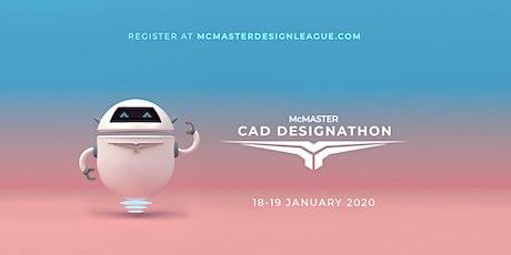 McMaster CAD Designathon 2020 tickets