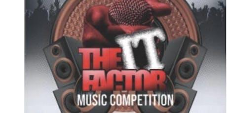 It Factor Music Showcase Finale tickets