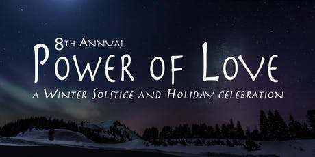 """8th Annual """"Power of Love"""" ~ hosted by Andrew Misle & The Ananda Tribe featuring Angie & Kevji tickets"""