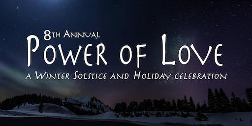 "8th Annual ""Power of Love"" ~ hosted by Andrew Misle & The Ananda Tribe featuring Angie & Kevji"