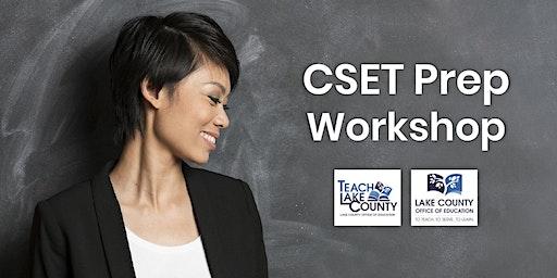 CSET Prep Workshop