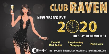 New Year's Eve 2020 at Club Raven tickets