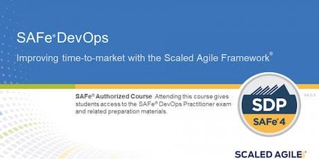 SAFe® DevOps Practitioner with SDP Certification San Francisco,CA tickets