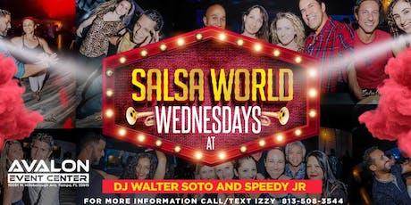 Salsa World Wednesday Latin Night at Avalon! tickets