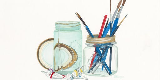 Mason Jar Watercolour Workshop with Joanne Thomson