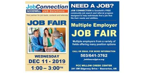 Job Fair - Beaverton - 12/11/19