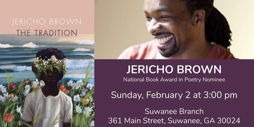 Jericho Brown:  National Book Award in Poetry Nominee