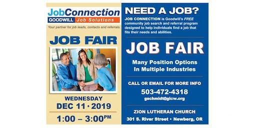 Job Fair - Newberg - 12/11/19
