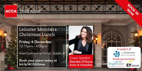 Christmas Lunch in support of The Alzheimer Society of Ireland tickets