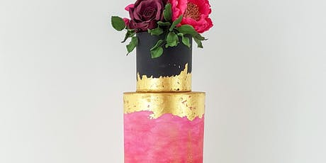 Gilded Rustic Wedding Cake Class at Fran's Cake and Candy Supplies tickets