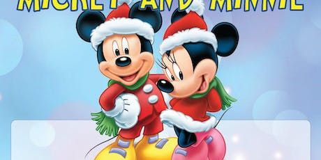 Milk & Cookies with Santa Mickey and Minnie. tickets