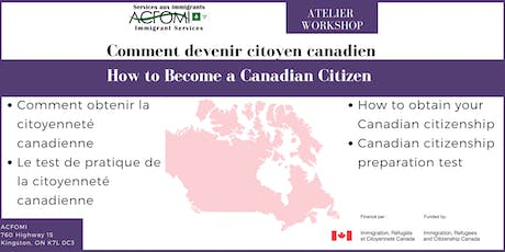 How to Become a Canadian Citizen / Comment devenir citoyenne canadienne  tickets