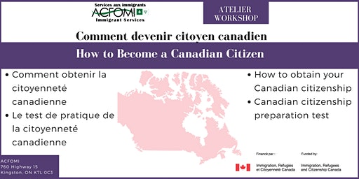 How to Become a Canadian Citizen / Comment devenir citoyenne canadienne