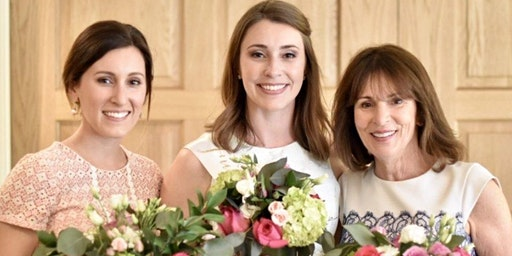 Mother's Day Blooms at Historic Baldwin Hall with Alice's Table