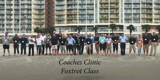 Coaches Clinic Service Training - Foxtrot Group (Class 2)