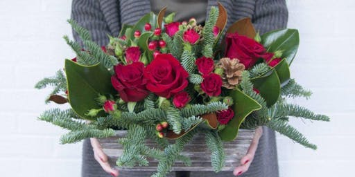 Merry and Bright Blooms at The Rattlesnake Club with Alice's Table