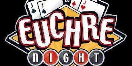 Euchre Night Apr 11 tickets