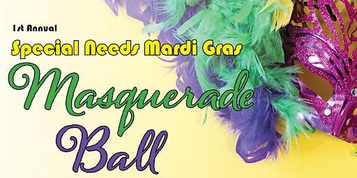 Special Needs Population Mardi Gras Masquerade Ball