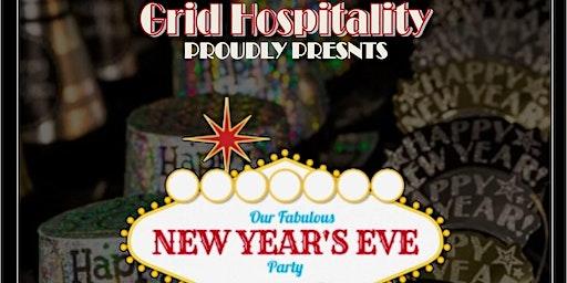 New Years Eve Casino Night + Party