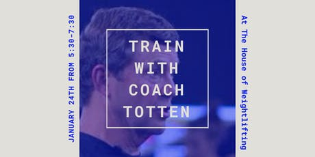 Training session with Coach Leo Totten tickets