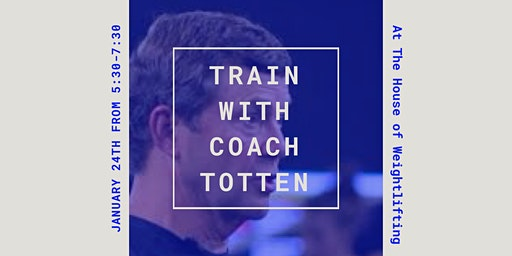 Training session with Coach Leo Totten