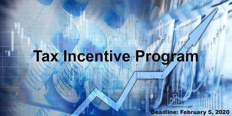 Tax Incentive Program - Info Session tickets