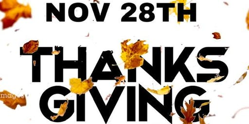 Thursday is Thanksgiving @ Bar 2200   $5 Happy Hour Drinks + $20 hookahs before 9pm   Food Menu Available   Sports Games on All Tvs  Free entry all night    For info text 832.338.3829 or @Bar2200Htx on Instagram