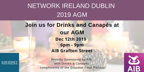Network Ireland Dublin - AGM & Christmas Drinks tickets