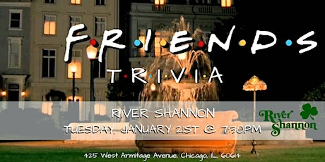Friends Trivia at River Shannon tickets