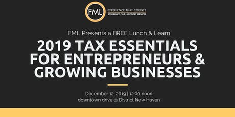 Year-End Tax Essentials for Entrepreneurs and Growing Businesses tickets