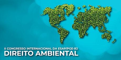 II CONGRESSO INTERNACIONAL DA ESAP/PGE-RJ: DIREITO tickets