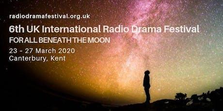 6th UK International Radio Drama Festival tickets