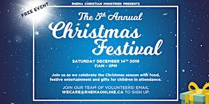 Rhema Community Christmas Festival 2019
