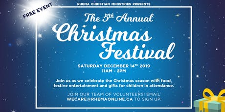 Rhema Community Christmas Festival 2019 tickets