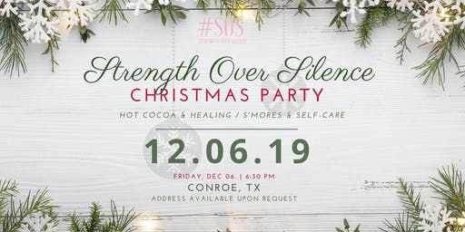 Self-Care thru the Holidays with Strength Over Silence!