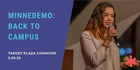 Minnedemo: Back to Campus tickets
