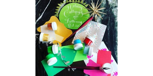 NYC Holiday Calligraphy Workshop: Create Envelope Art, DIY Gifts & more