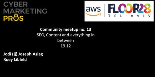 Community Meetup No. 13 Content, SEO and anything in between