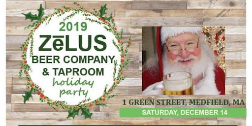 Holiday Party at the ZēLUS Taproom