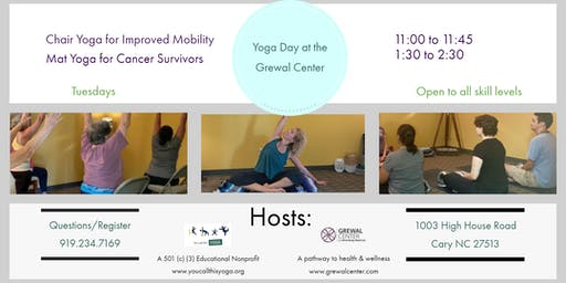 Free Mat Yoga for Cancer Survivors