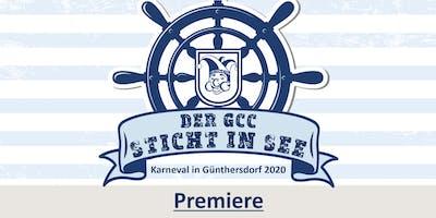 DER GCC STICHT IN SEE - Premiere