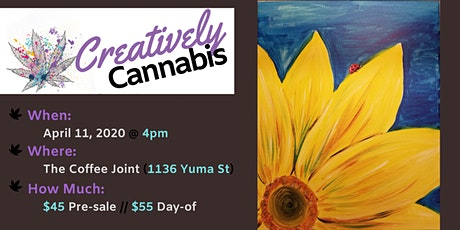 Creatively Cannabis: Tokes and Brushstrokes @ The Coffee Joint (4/11/20) tickets