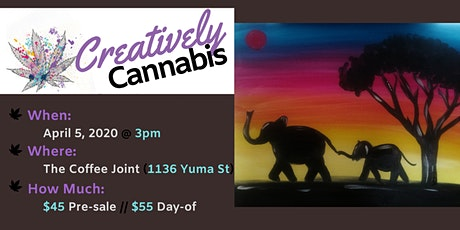 Creatively Cannabis: Tokes and Brushstrokes @ The Coffee Joint (4/5/20) tickets